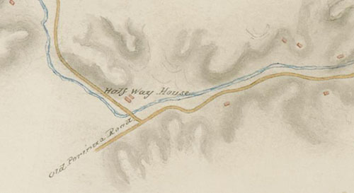 Map dated 1846-1849
