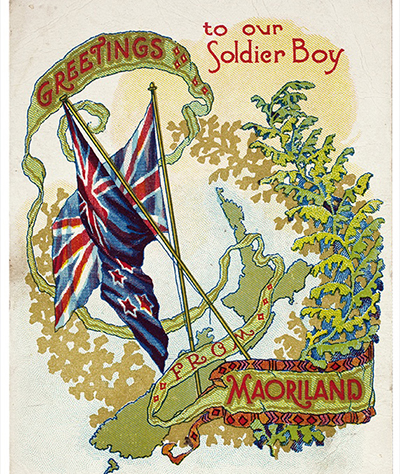 Christmas Card from WWI