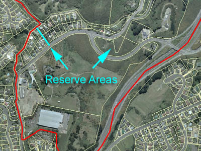 Reserve areas