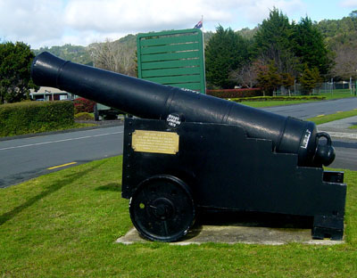 Cannon at Trentham