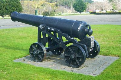 Cannon at Trentham