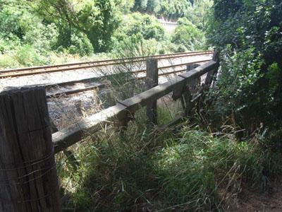 Old rwailway gate