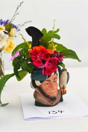 Toby jug bouquet